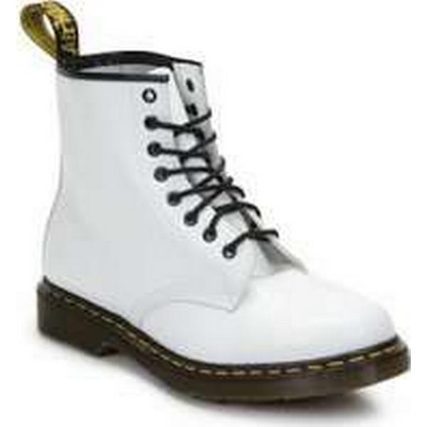 Spartoo.co.uk men's Dr Martens 1460 men's Spartoo.co.uk Mid Boots in White 9a126f