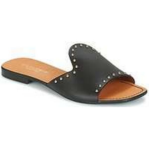 Spartoo.co.uk Café Noir Shoes YELENA women's Mules / Casual Shoes Noir in Black 2c654c