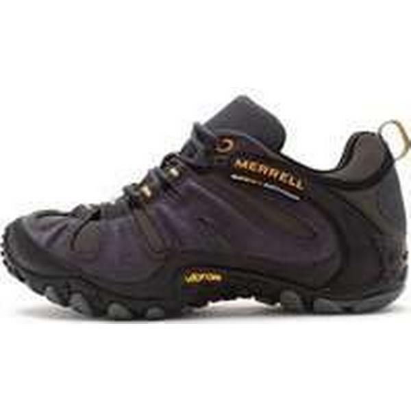 Spartoo.co.uk Merrell Chameleon Wrap Slam Hiking J524201 Shoes in Dark Grey J524201 Hiking men's Walking Boots in Grey 216fc3