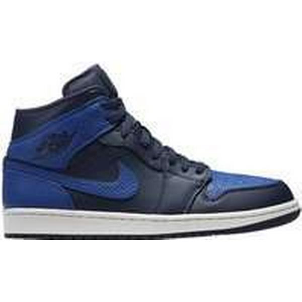 6346fd90aa378e Spartoo.co.uk Nike Air Jordan I Mid men  x27 s men  x27 s men  x27 s Shoes ( High-top Trainers) in Blue ef6208