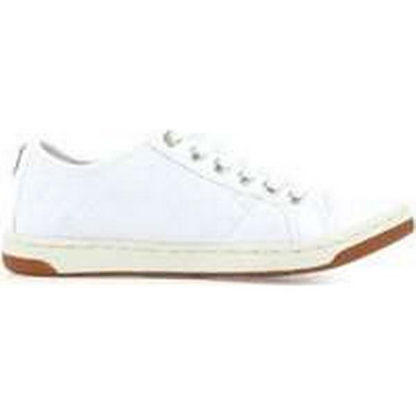 Spartoo.co.uk Geox J Creamy D women's in Shoes (Trainers) in women's White b743dc