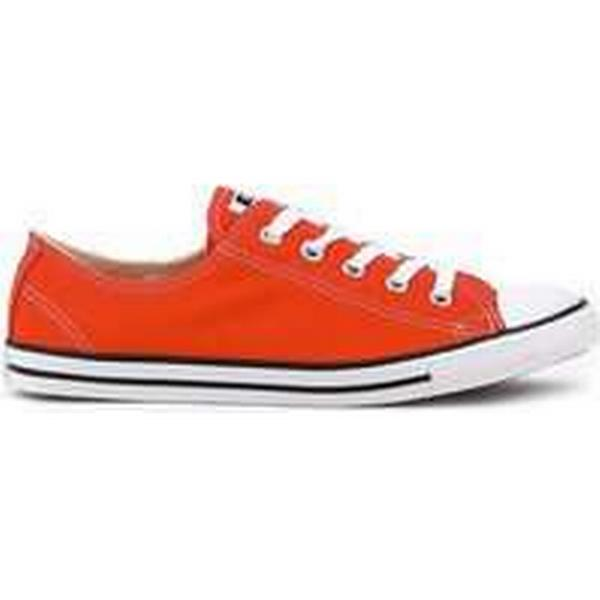 Spartoo.co.uk Converse Chuck Taylor All Star Shoes Dainty women's Shoes Star (Trainers) in Red 5828f5