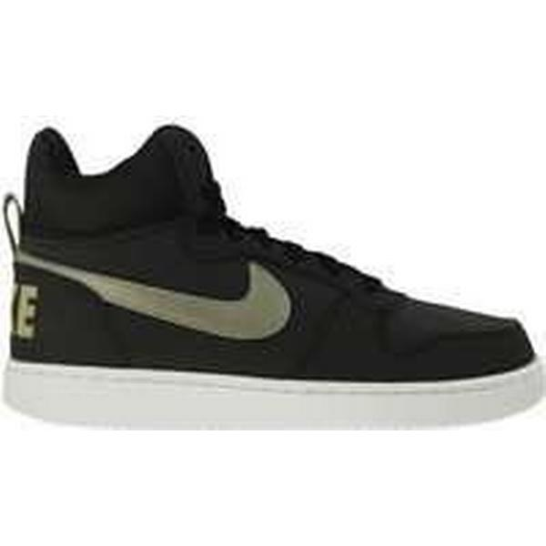 Man/Woman: Spartoo.co.uk Nike Court Borough Trainers) Mid men's Shoes (High-top Trainers) Borough in White: Huge Cost 0096a4