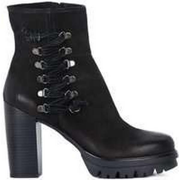 Spartoo.co.uk Café Noir Tronchetto women's Nabuck women's Tronchetto Low Ankle Boots in Black 2c9c6b