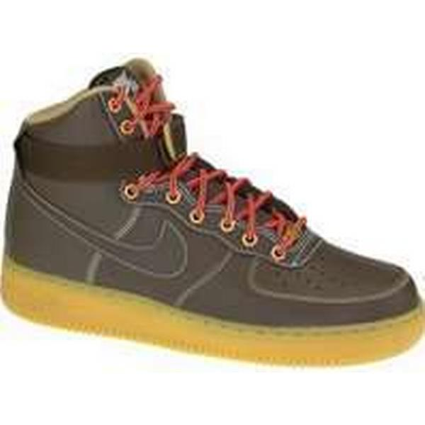 Spartoo.co.uk Nike Air Force 1 High Shoes men's Shoes High (High-top Trainers) in Brown 2493f8