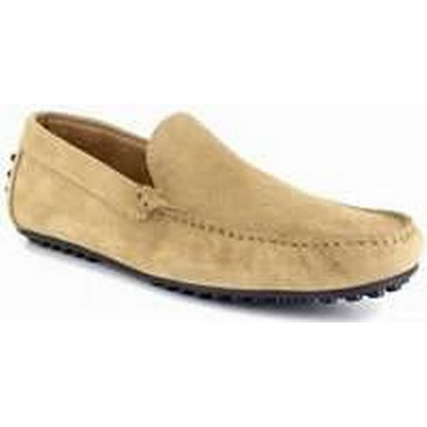 Spartoo.co.uk J.bradford Sand Loafer Sand J.bradford Leather JB-NAVY men's Loafers / Casual Shoes in Brown 63bdd8