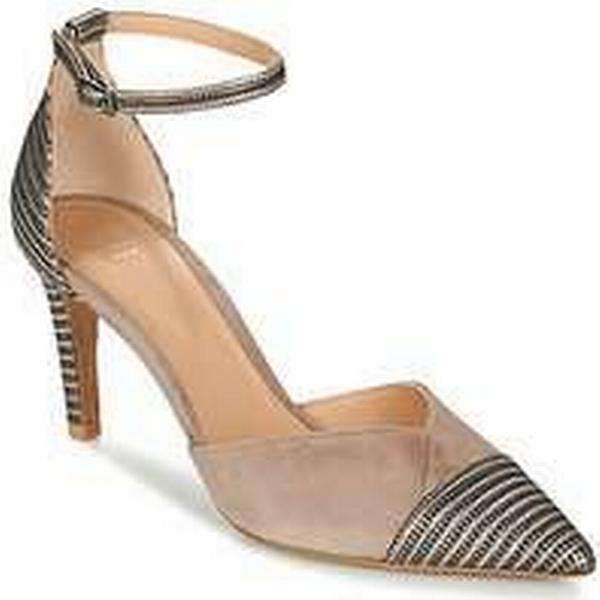 Spartoo.co.uk Perlato Perlato Spartoo.co.uk WALOKO women's Court Shoes in Beige 7d95b8