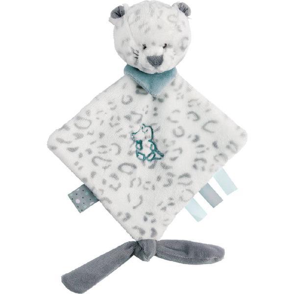 Nattou Mini Doudou Snow Leopard