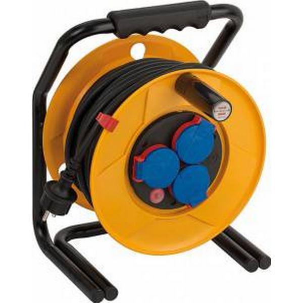 Brennenstuhl Brobusta 1317430 3-way 25m Cable Drum