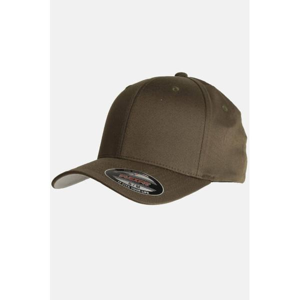 Flexfit Wooly Combed Cap - Olive