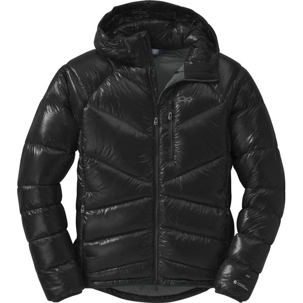 Outdoor Research Incandescent Hooded Down Jacket - Black