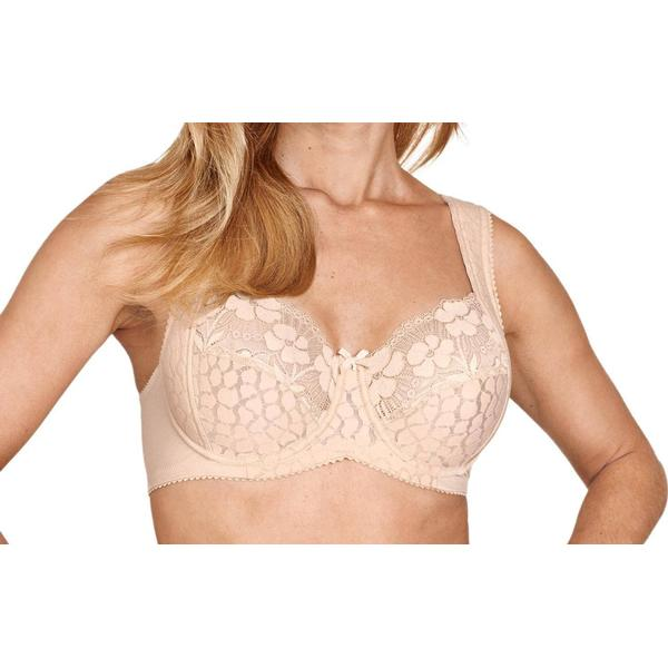 Miss Mary of Sweden Lovely Jacquard & Lace underwire Bra Beige (2166)