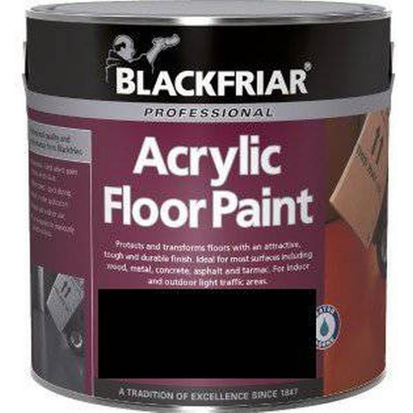 Blackfriar Professional Acrylic Floor Paint Black 1L