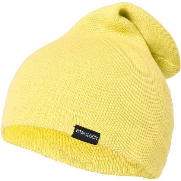 Urban Classics Neon Long Beanie - Yellow