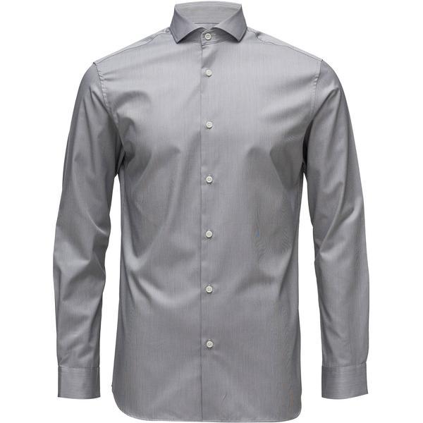 Selected Slim Fit Shirt Grey/Grey Melange