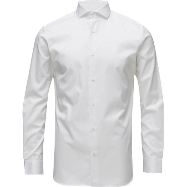 Selected Slim Fit Shirt - White/Bright White