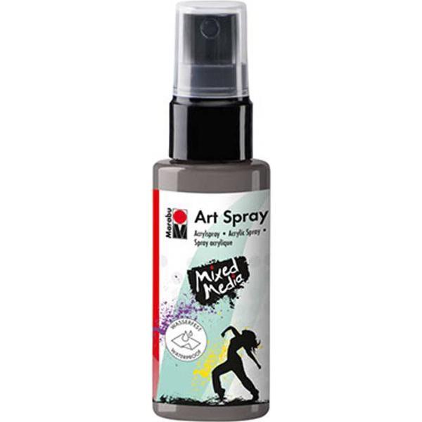 Marabu Art Spray Grey 50ml