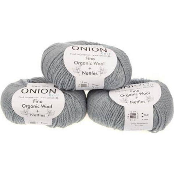 Onion No.4 Organic Wool+Nettles 130m