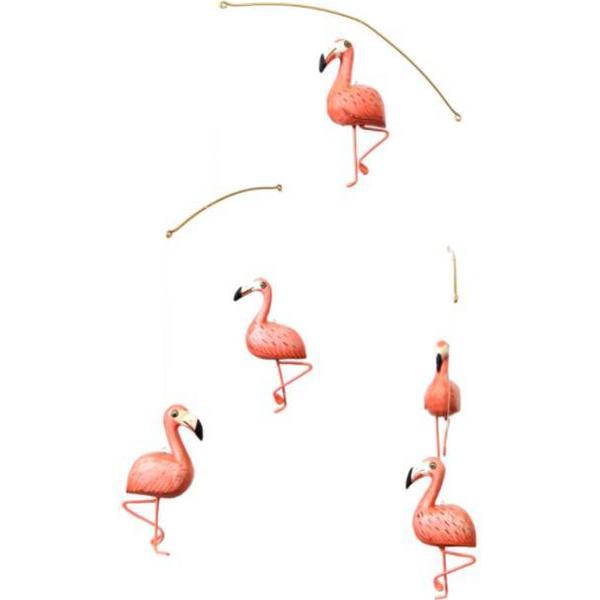 Geggamoja Mobile Flamingo
