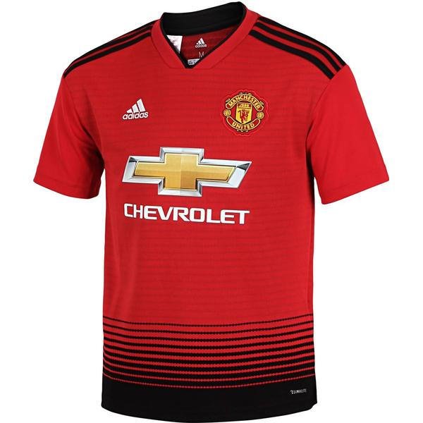Adidas Manchester United Home Jersey 18/19 Youth
