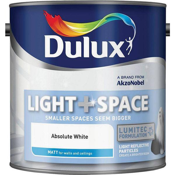 Dulux Light + Space Wall Paint, Ceiling Paint White 2.5L