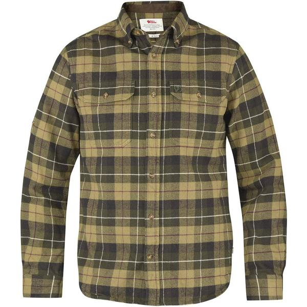 Fjällräven Singi Heavy Flannel Shirt - Green