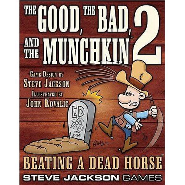 Steve Jackson Games The Good the Bad & the Munchkin 2: Beating a Dead Horse