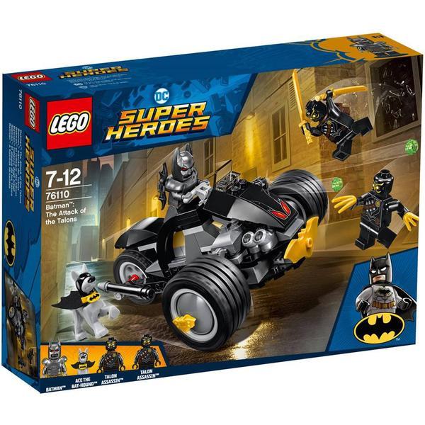 Lego DC Comics Super Heroes Batman The Attack of the Talons 76110