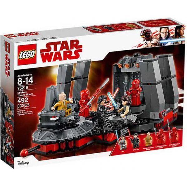 Lego Star Wars Snoke's Tronsal 75216
