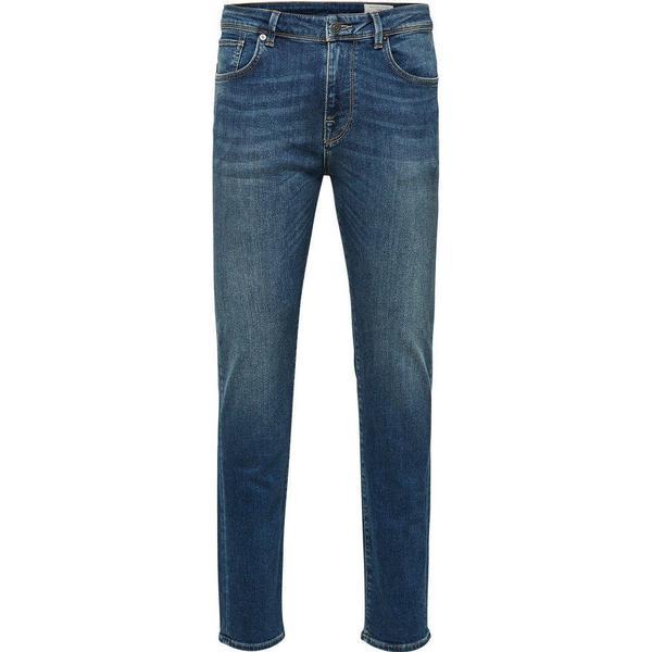 Selected 1004 Slim Fit Jeans Blue/Medium Blue Denim