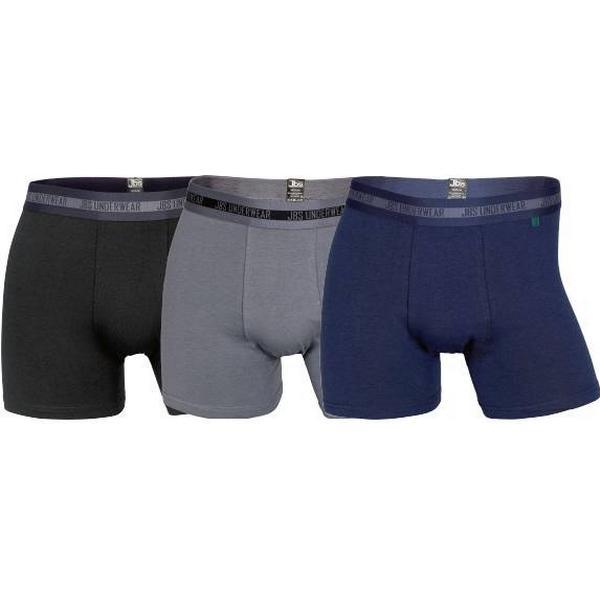 JBS Bambus Tights 3-pack Blue/Grey/Black