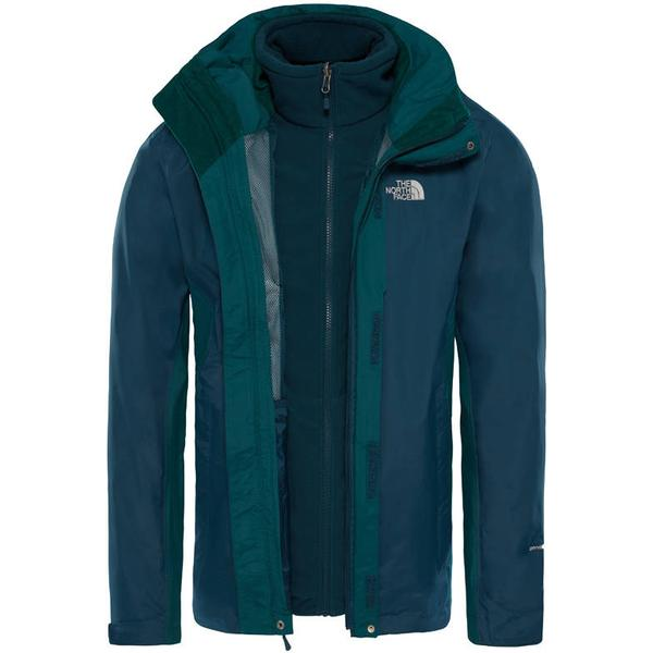 The North Face Evolution II Triclmate Jacket - Kodiak Blu/Botanclgardn Grn