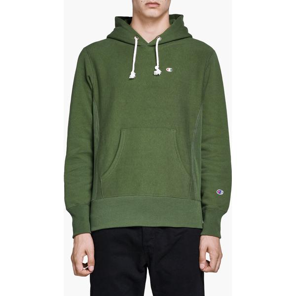 Champion Reverse Weave Hoodie Forest Green