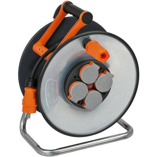 Brennenstuhl 9192250100 4-way 25m Cable Drum