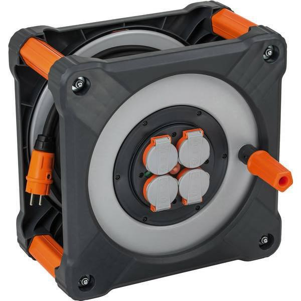 Brennenstuhl 9201330100 4-way 33m Cable Drum