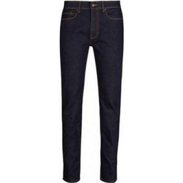Burton Blake Slim Fit Raw Jeans Blue