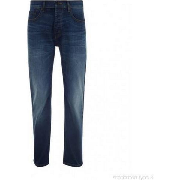 Burton Logan Straight Leg Jeans Mid Blue