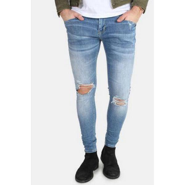 Gabba Iki Lt Destroy Jeans - Blue