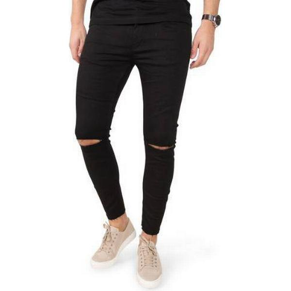 Gabba Iki Cropped Jeans - Stay Black