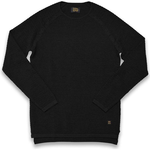 Gabba Larry O-Neck Knitted Sweater Black