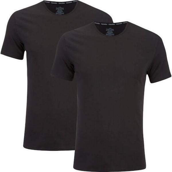 Calvin Klein T-shirt 2-pack - Black