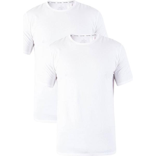 Calvin Klein T-shirt 2-pak - White/White