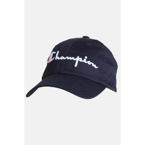Champion Classic Script Logo Baseball Cap Dark Blue