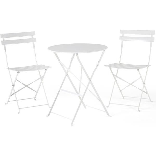 Beliani Fiori Cafésæt, 1 borde inkl. 2 stole