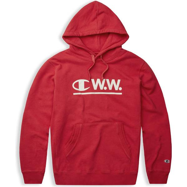 Champion X Wood Wood Hoodie Red