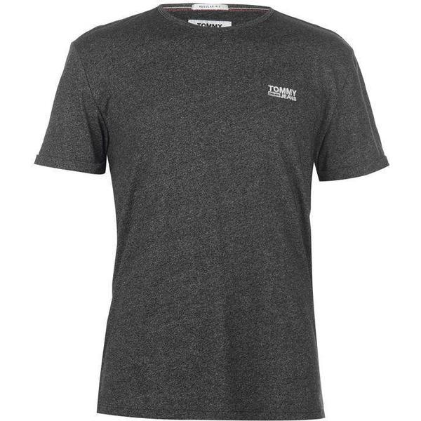 Tommy Hilfiger Regular Fit Jaspe T-shirt - Tommy Black