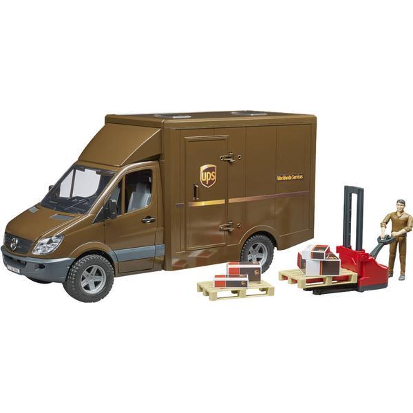 Bruder UPS Kassebil MB Sprinter 02538