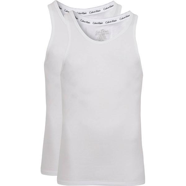 Calvin Klein Modern Cotton Tank Tops 2-pack - White