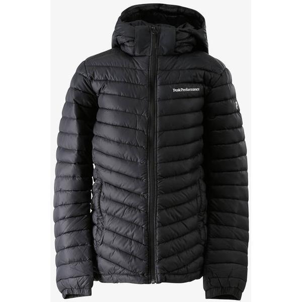 69b00e0cffe Peak Performance Kids Frost Down Hooded Jacket - Artwork Black  (G58685090-A50)