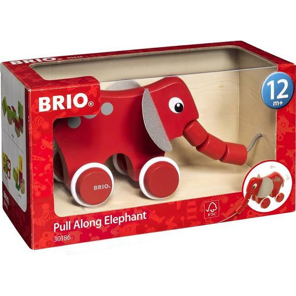 Brio Pull Along Elephant 30186